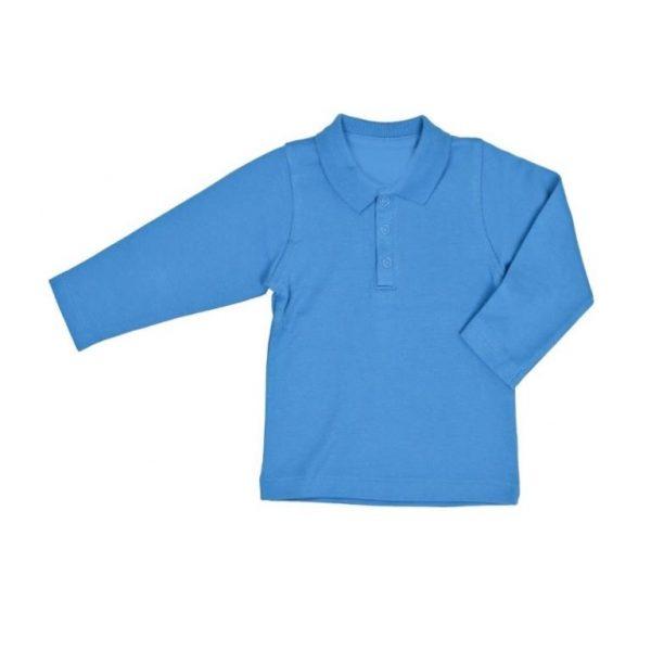 Детские рубашки поло с длинным рукавом