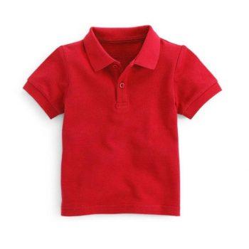 Детские рубашки поло с коротким рукавом