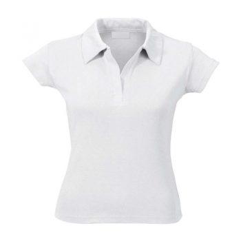 Женские рубашки поло с коротким рукавом